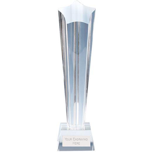"Paramount Star Crystal Glass Award 26cm (10.25"")"