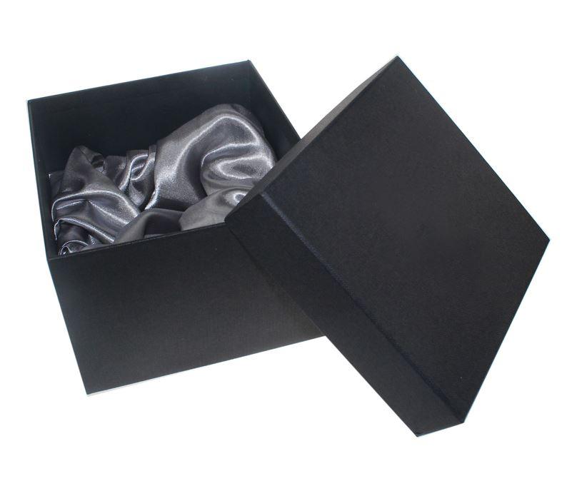 """Dark Grey 1/2 Pint Tankard Presentation Box with Silk Lining 12cm x 15cm (4.75"""" x 6"""")"""
