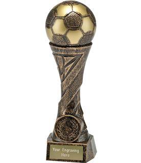 """Football TrophyHeavyweight Sculpture Antique Bronze 19cm (7.5"""")"""