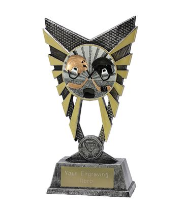 "Valiant Ice Hockey Trophy Silver 23cm (9"")"
