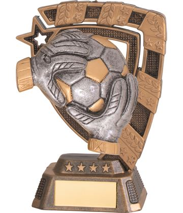 "Euphoria Football Goalkeeper Trophy 13cm (5"")"