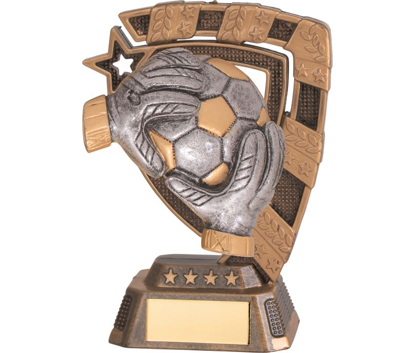 "Euphoria Football Goalkeeper Trophy 13cm (5"")"