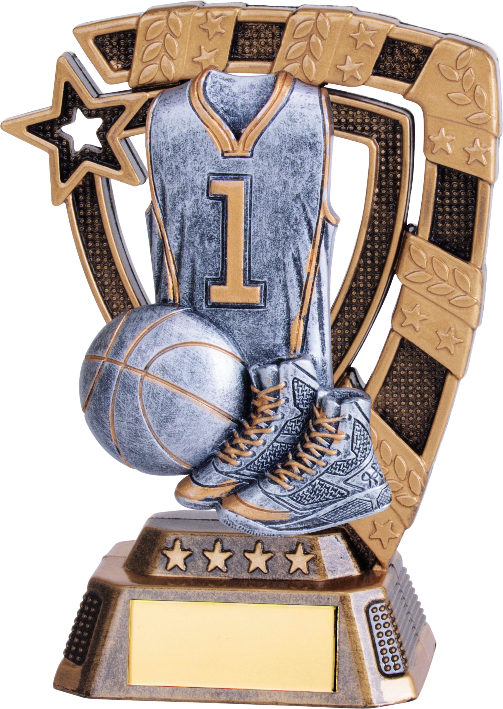 "Euphoria Basketball Trophy 13cm (5"")"