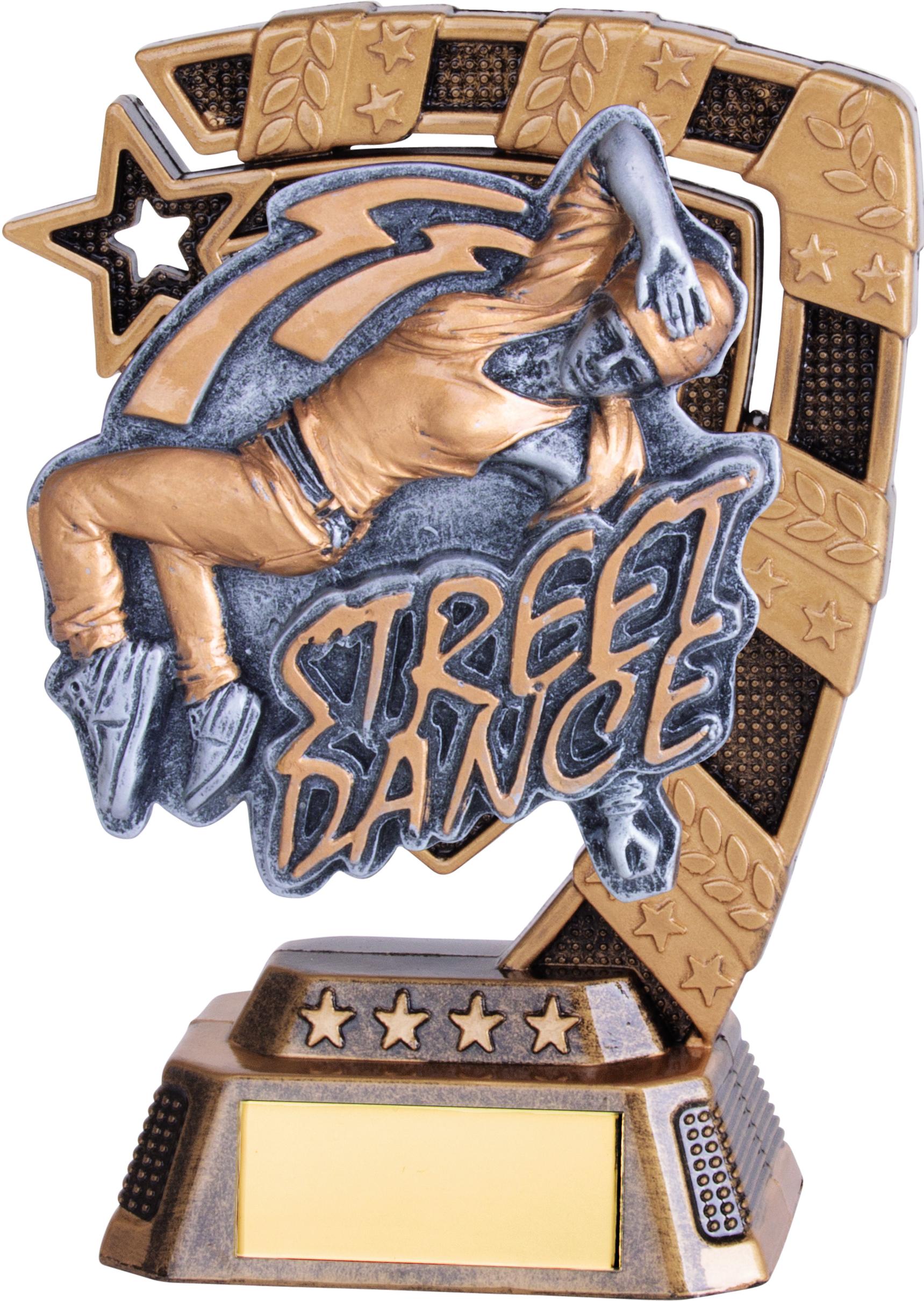 "Euphoria Female Street Dance Trophy 13cm (5"")"