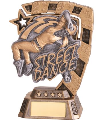 "Euphoria Female Street Dance Trophy 13cm (5"")"