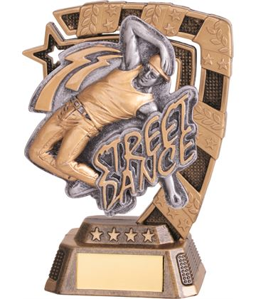 "Euphoria Male Street Dance Trophy 13cm (5"")"