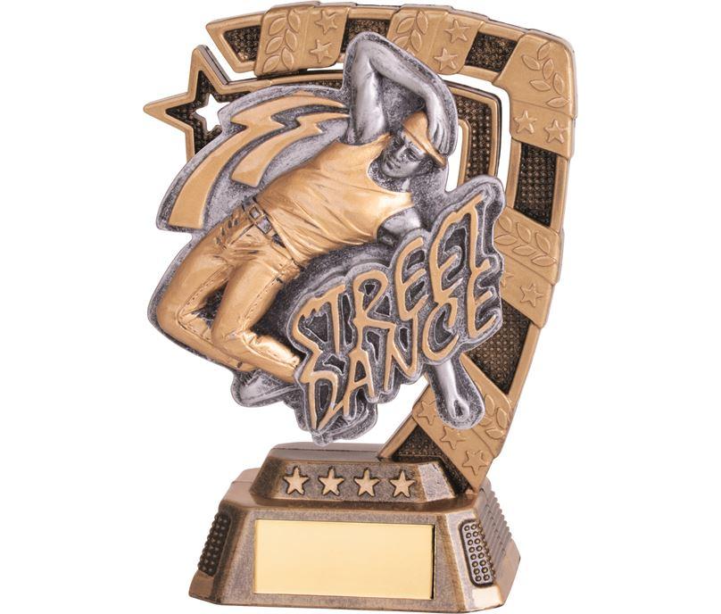 "Euphoria Male Street Dance Trophy 13cm (5"")"