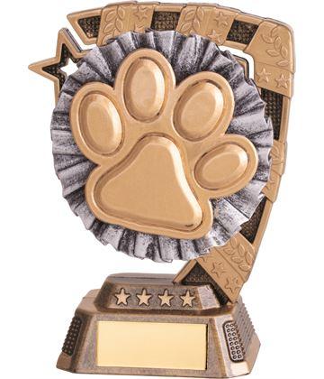"Euphoria Dog Agility Trophy 13cm (5"")"