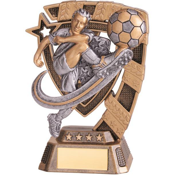 "Euphoria Male Football Trophy 13cm (5"")"