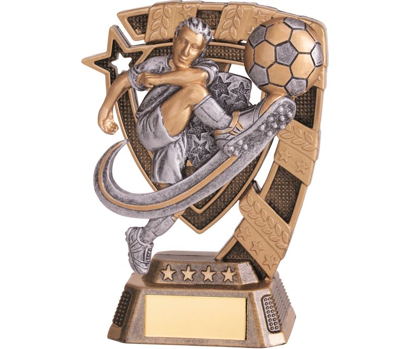 "Euphoria Male Football Trophy 13cm (5"")"