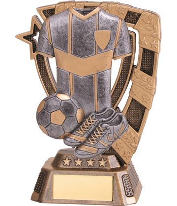 "Euphoria Football Trophy 13cm (5"")"