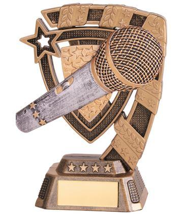 "Euphoria Karaoke Trophy 13cm (5"")"