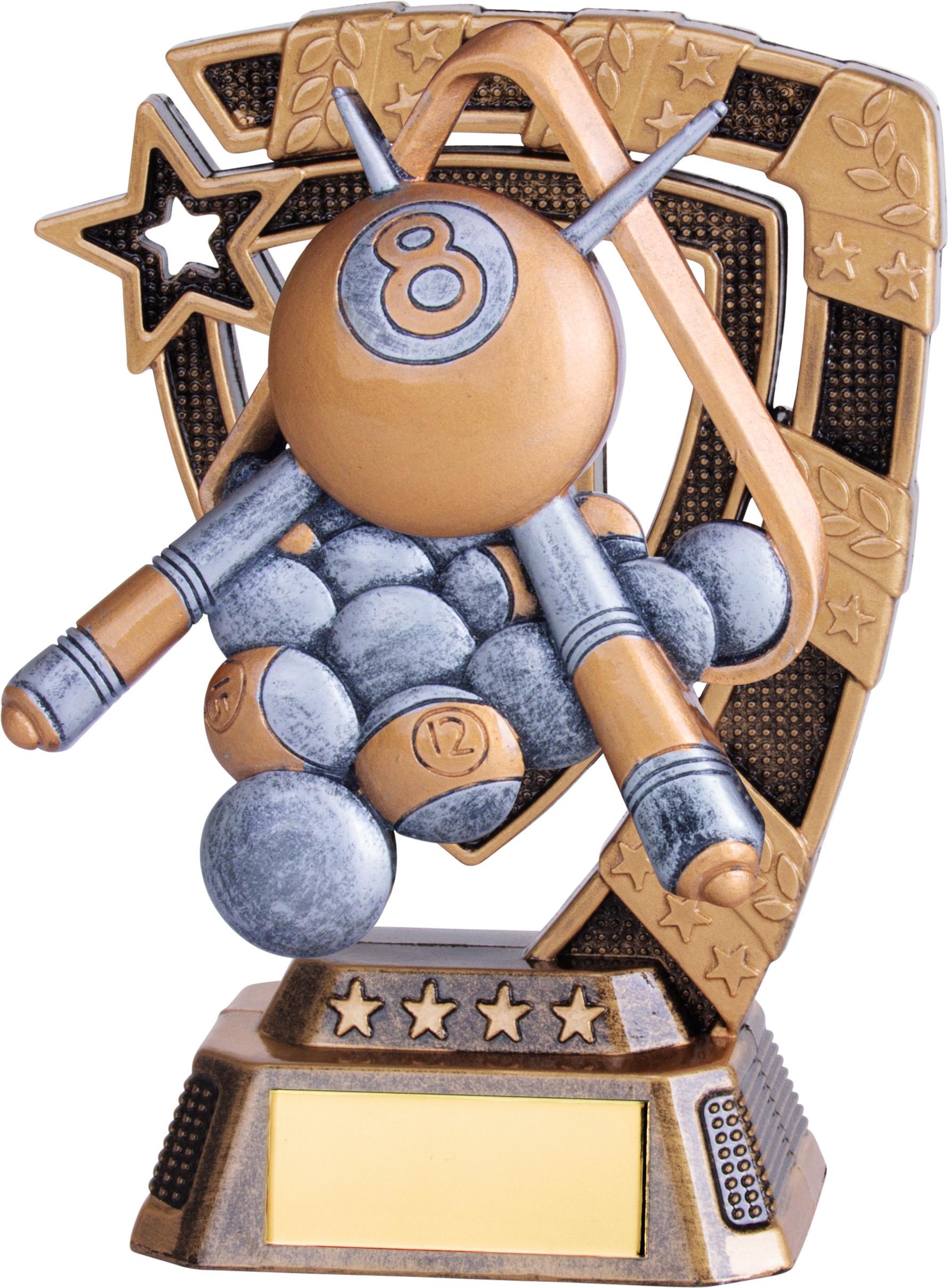 """Euphoria Pool Trophy 13cm (5"""")"""