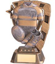 """Euphoria Rugby Trophy 13cm (5"""")"""