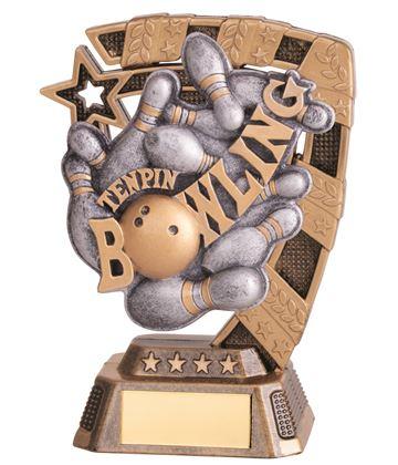"""Euphoria Tenpin Bowling Trophy 13cm (5"""")"""