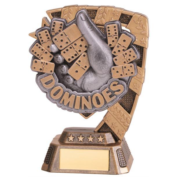 """Euphoria Dominoes Trophy 13cm (5"""")"""