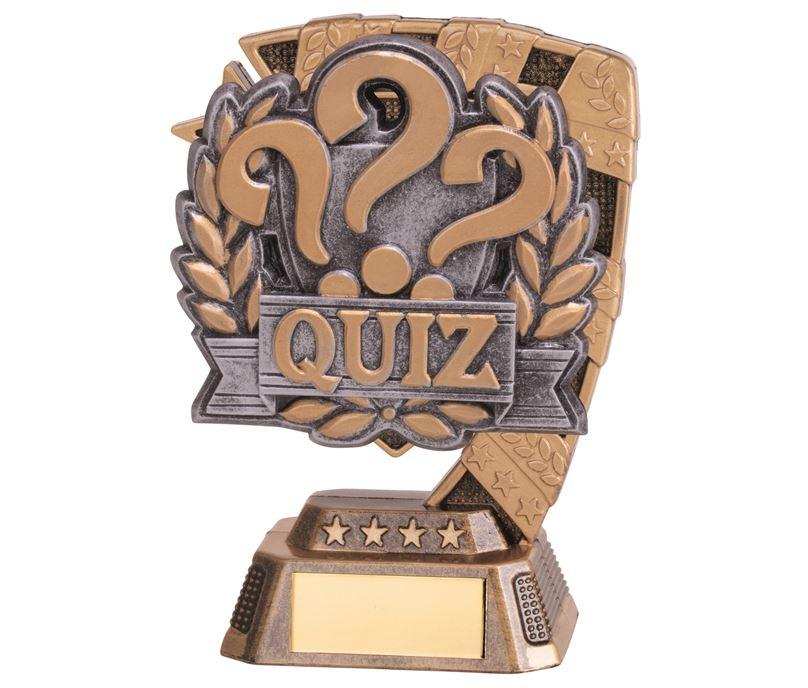 """Euphoria Quiz Trophy 13cm (5"""")"""