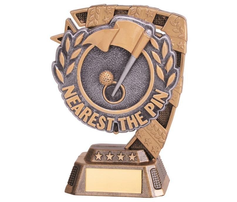 "Euphoria Nearest The Pin Golf Trophy 13cm (5"")"