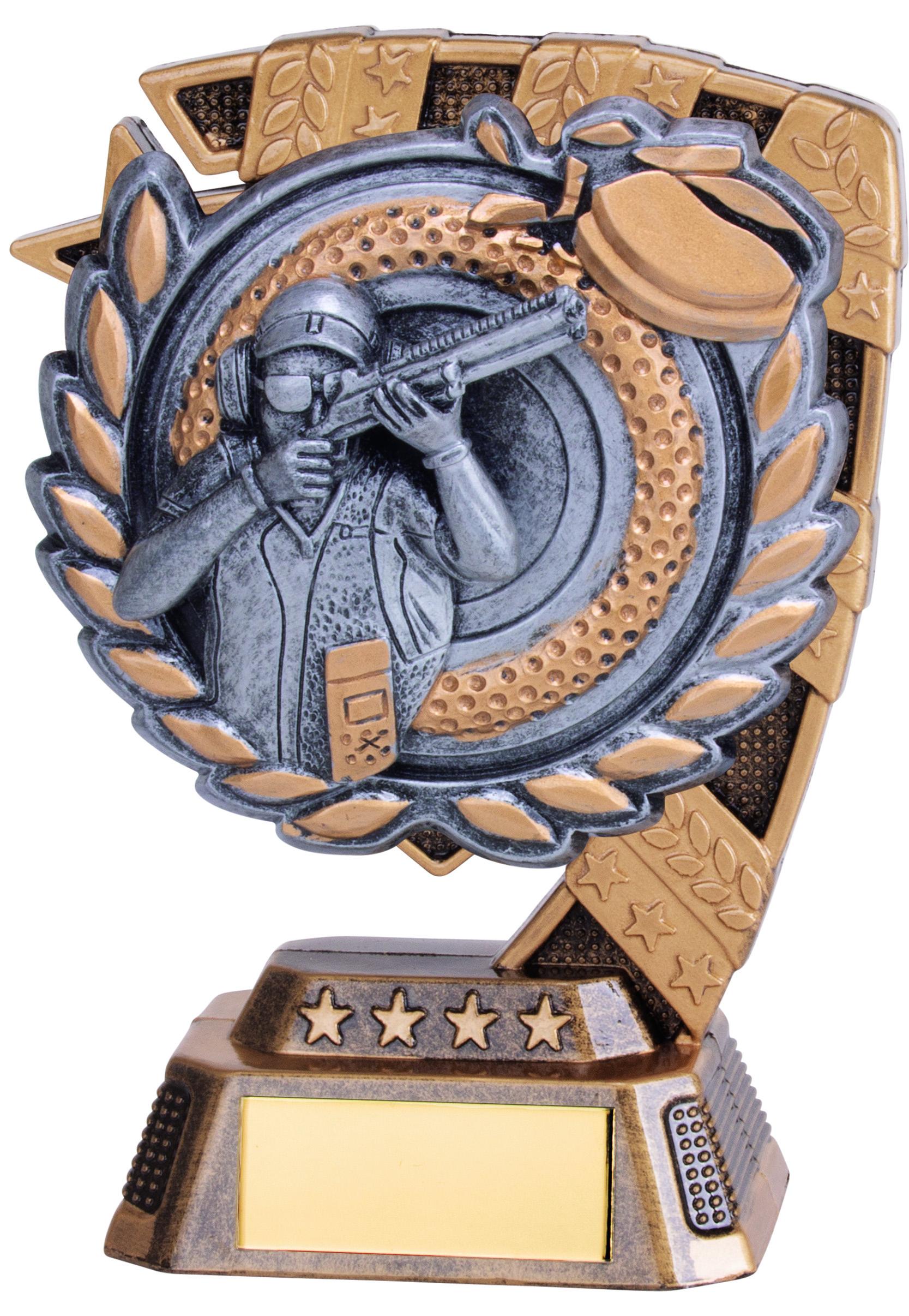 """Euphoria Clay Pigeon Shooting Trophy 13cm (5"""")"""