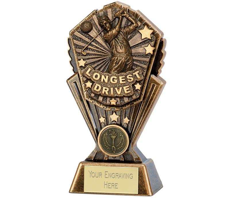 "Cosmos Golf Longest Drive Trophy 17.5cm (7"")"