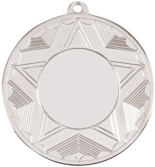 "Horizon Medal Series Silver 50mm (2"")"