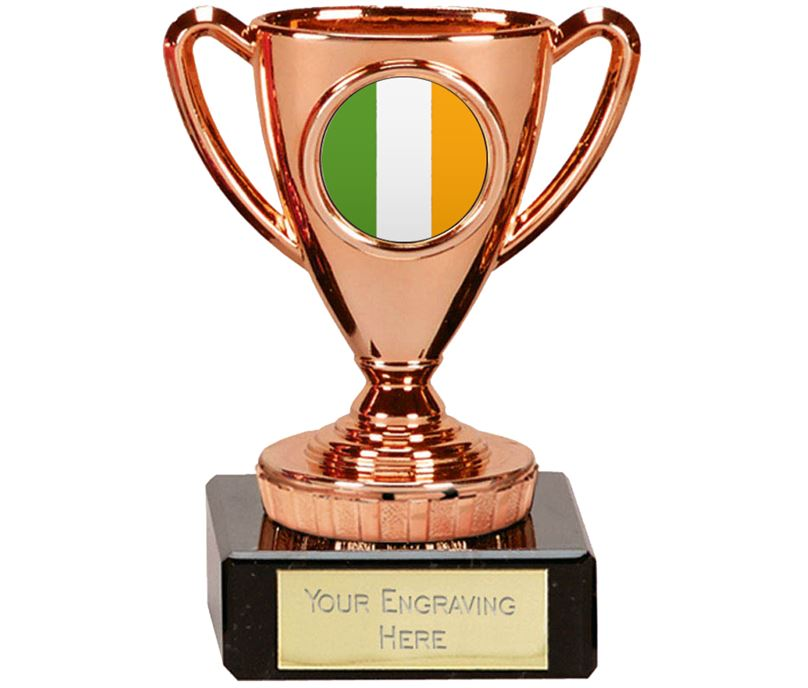 "Irish Trophy Mini Cup Bronze 10cm (4"")"