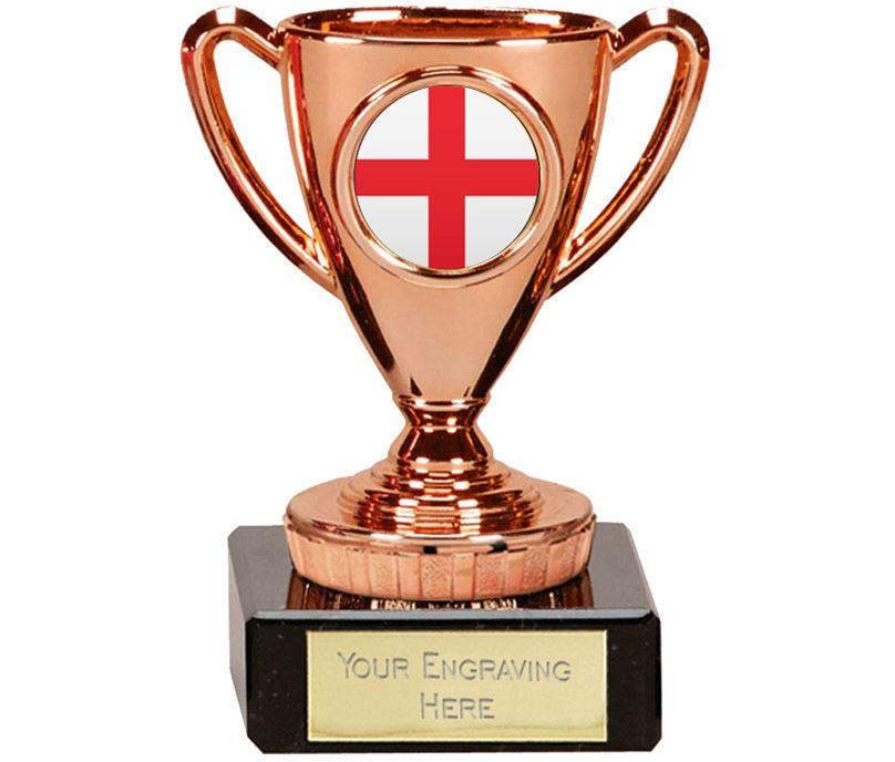 "English Trophy Mini Cup Bronze 10cm (4"")"