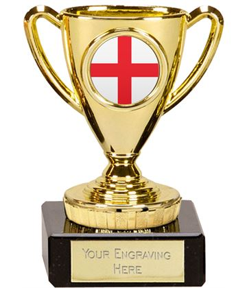 "English Trophy Mini Cup Gold 10cm (4"")"