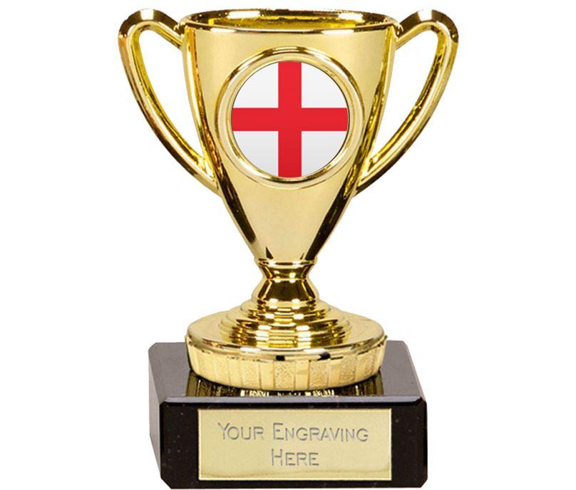 "English Trophy Mini Cup Gold 10cm (4"")"