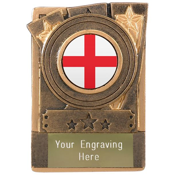 "English Fridge Magnet Award 8cm (3.25"")"