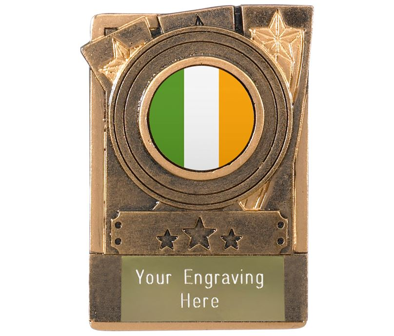 "Irish Fridge Magnet Award 8cm (3.25"")"