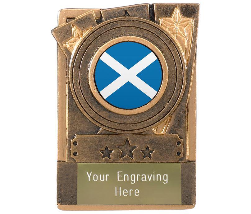 """Scottish Fridge Magnet Award 8cm (3.25"""")"""