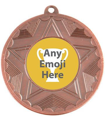 "Horizon Emoji Medal Bronze 50mm (2"")"