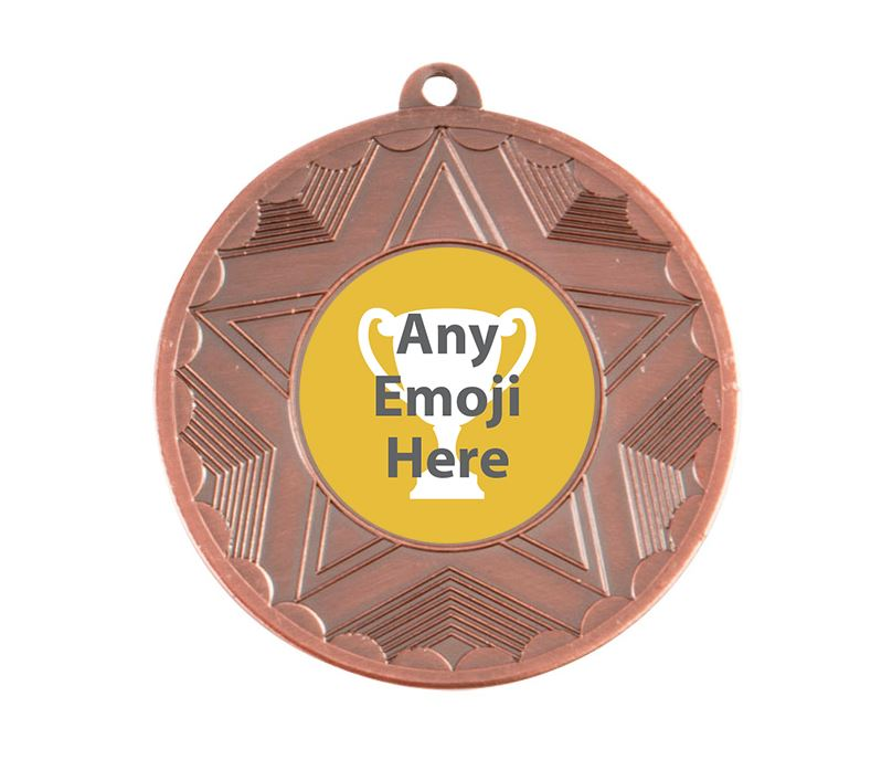 "Horizon Emoji Medal Bronze 50mm (2"")"