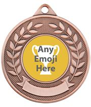"Valour Emoji Medal Bronze 50mm (2"")"