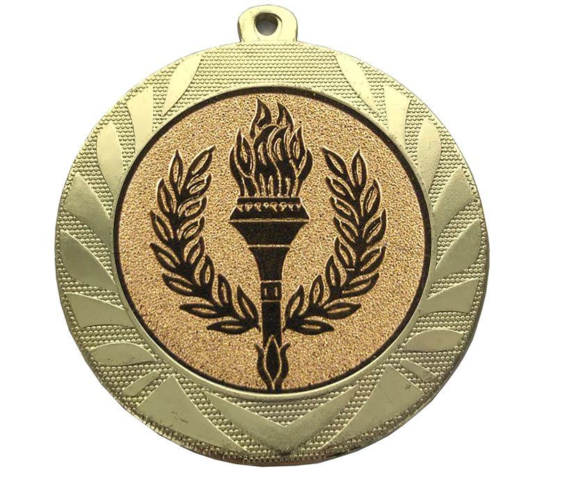 """Laurel Wreath Achievement Medal Gold 70mm (2.75"""")"""