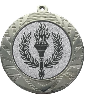 "Laurel Wreath Achievement Medal Silver 70mm (2.75"")"
