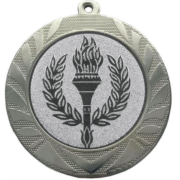"""Laurel Wreath Achievement Medal Silver 70mm (2.75"""")"""