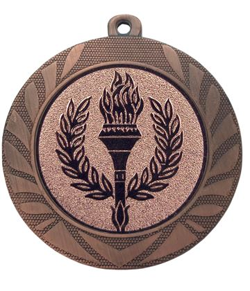"Laurel Wreath Achievement Medal Bronze 70mm (2.75"")"