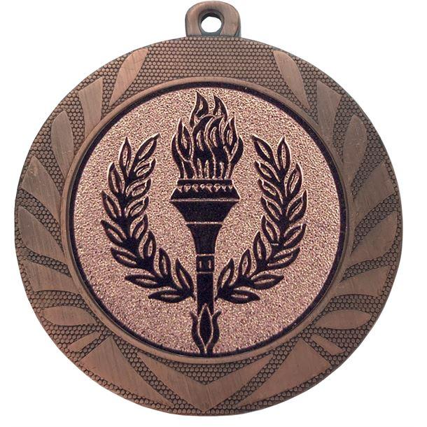 "Laurel Wreath Achievement Medal Bronze 70mm (2.75"")"