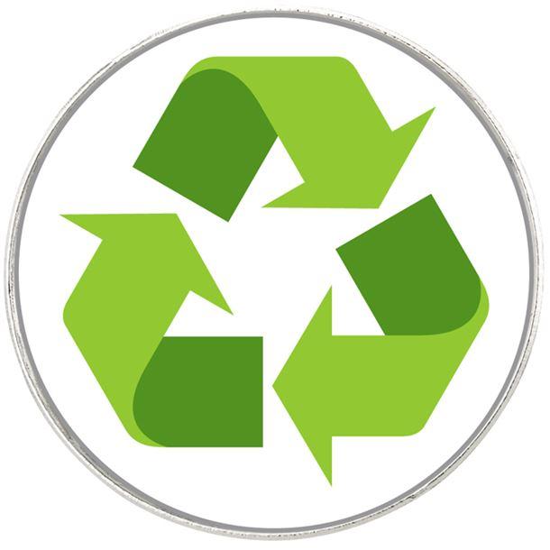 "School Eco Emoji Pin Badge 2.5cm (1"")"