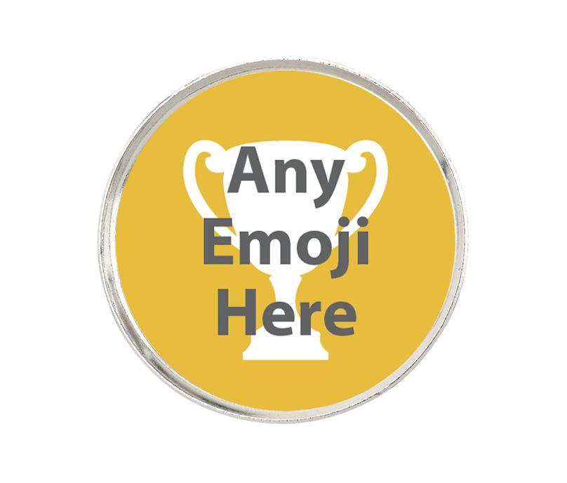 """Emoji Pin Badge 2.5cm (1"""")"""