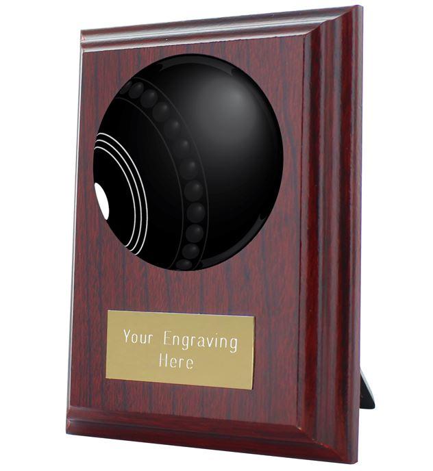 """Lawn Bowls Plaque Award 10cm (4"""")"""