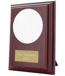 "Golf Plaque Award 10cm (4"")"