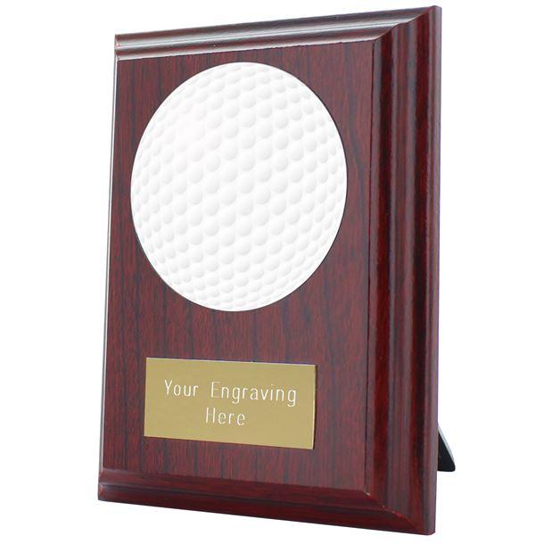 """Golf Plaque Award 10cm (4"""")"""