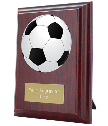 "Football Plaque Award 10cm (4"")"