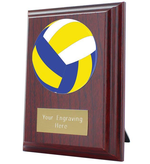 "Volleyball Plaque Award 10cm (4"")"