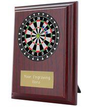 """Darts Plaque Award 10cm (4"""")"""