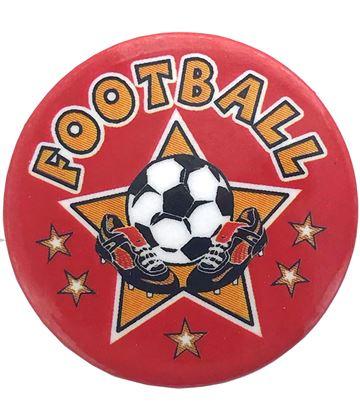"""Football Star Pin Badge 25mm (1"""")"""