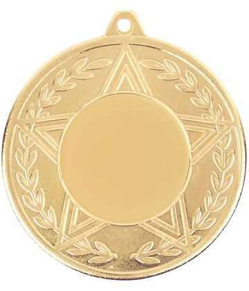 "Caesar Achievement Medal Gold 50mm (2"")"